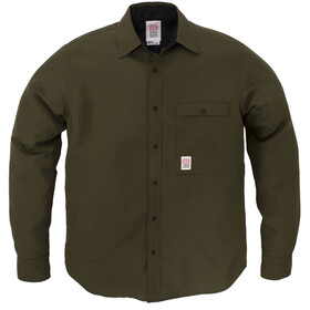 Topo Designs Breaker Shirt Jacket Herre olive